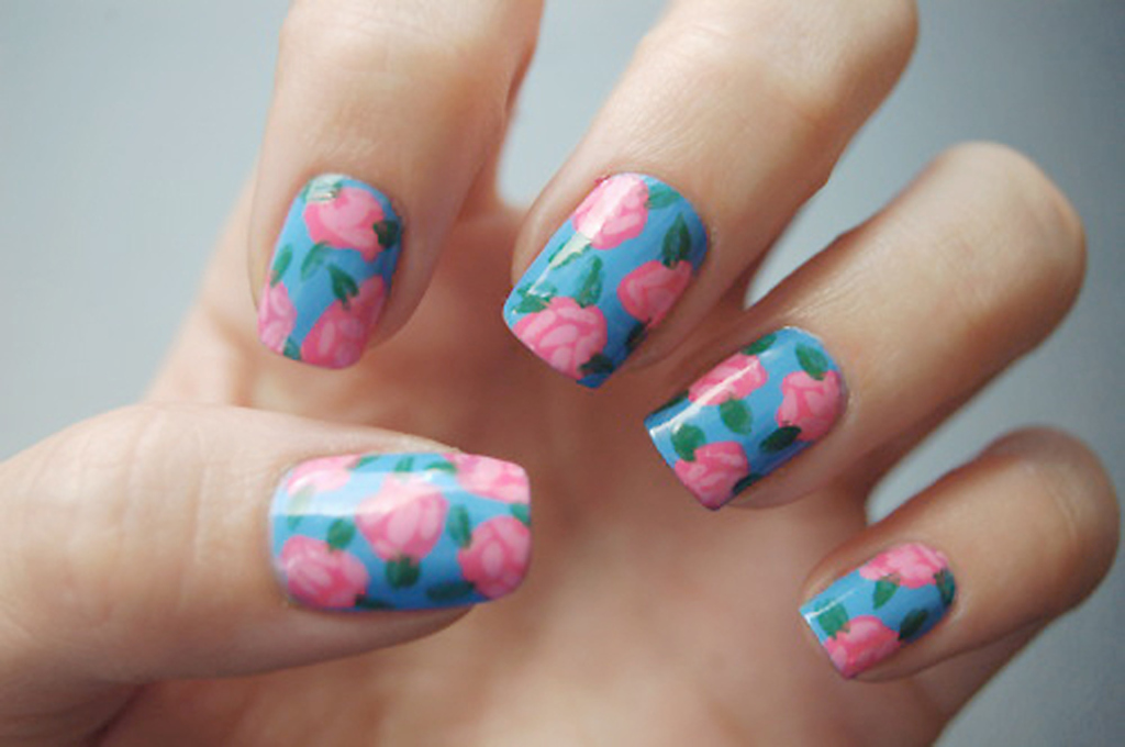 Abstract floral nail stickers nail art abstract floral nail stickers prinsesfo Images