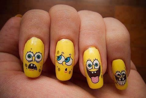 Emotions Depicted on Nail