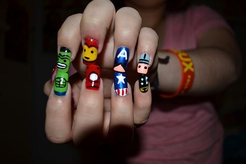Inspired By Avengers!