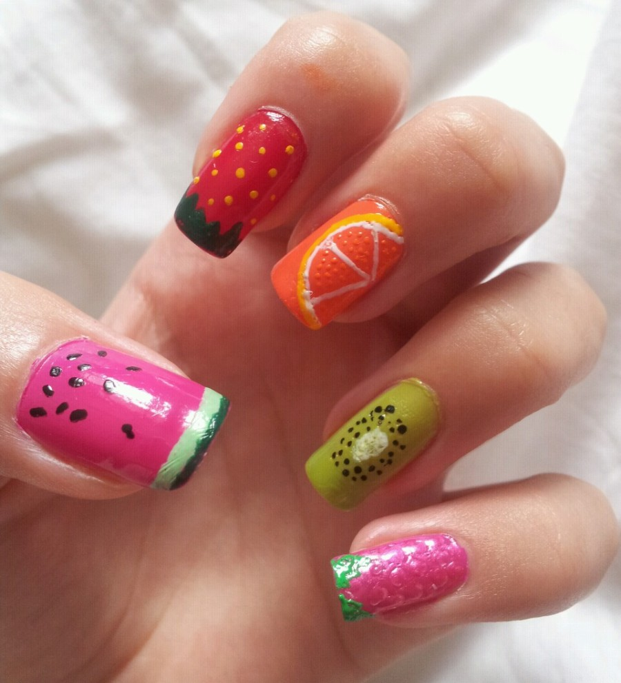 Juicy Fruity Nails