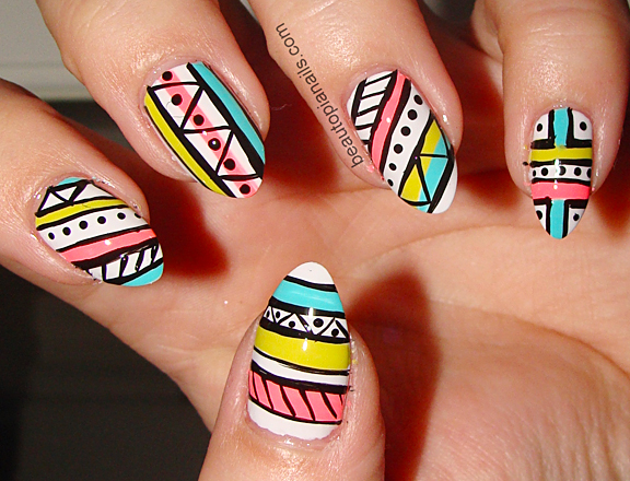 Kandinsky Inspired Nail Art Themes