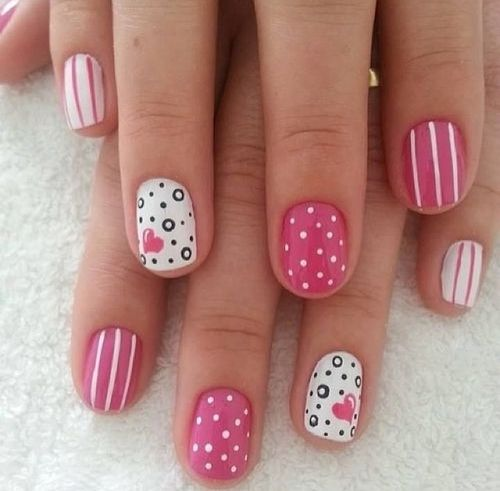 Lovable Nails With Pinky