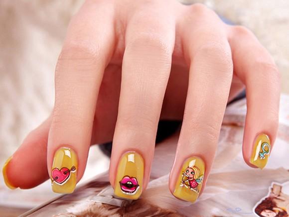Love cupid nails nail art love cupid nails prinsesfo Images