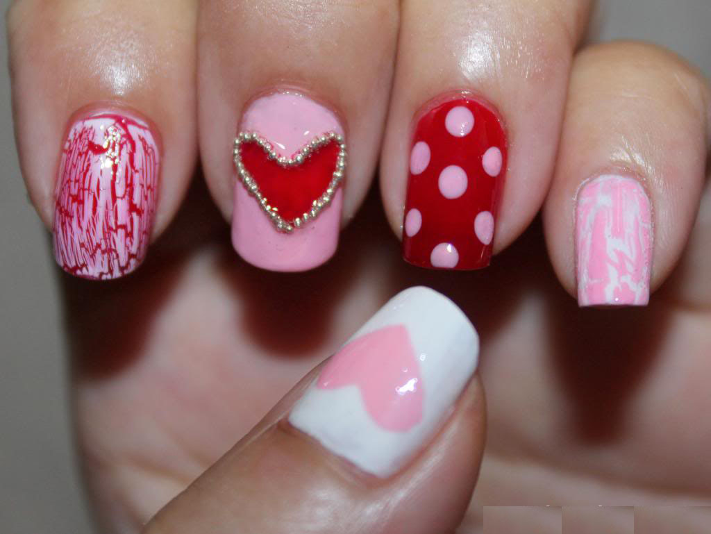 Perfect Combo of Hearts and Polka Dots
