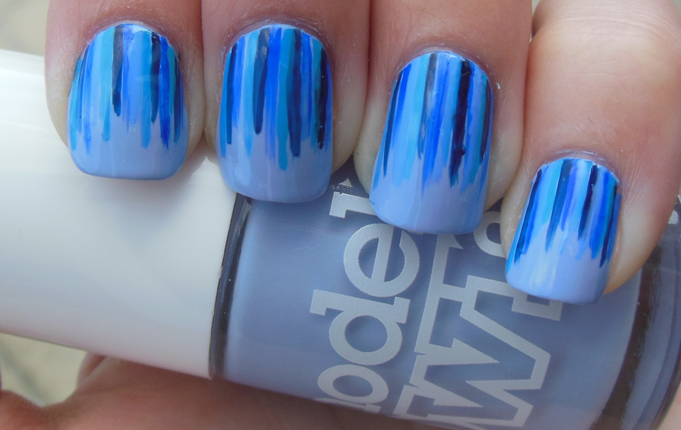 Simple Blue Design Ready in Five Minutes