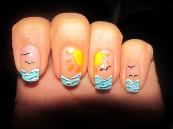 Sunny Beach and Sea Nails