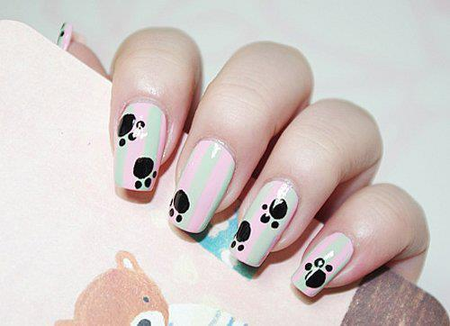 Welcome Spring with Baby Bear Paws