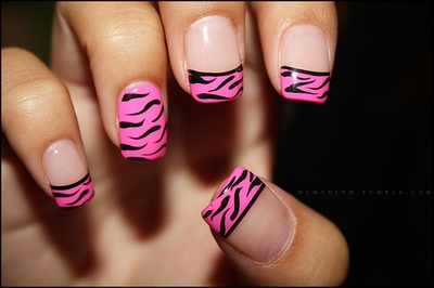 Zebra Print with a Pinky Twist